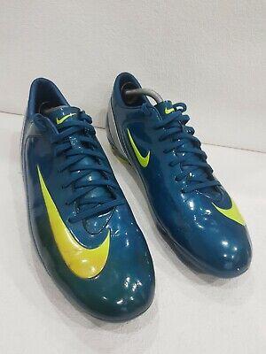 Men's Nike Mercurial Football Boots Size Uk 12 Blue Vgc