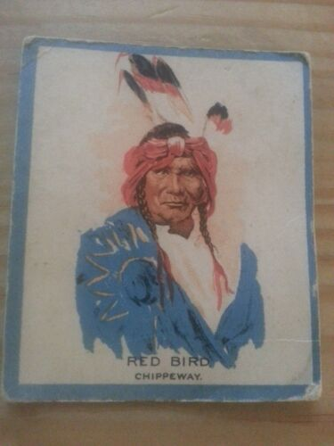 Chief Red Bird 1933 Hamilton Chewing Gum #10 Anon. version - like V416 Teepee