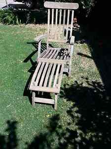 Chair teak relaxer Chatswood West Willoughby Area Preview