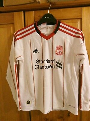 Liverpool ADIDAS Football shirt jersey maglia For Boys or girls Size 9/10 years](Football Jersey For Girls)