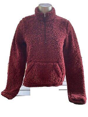 Hollister Women's Fleece Jacket 1/4 Zip