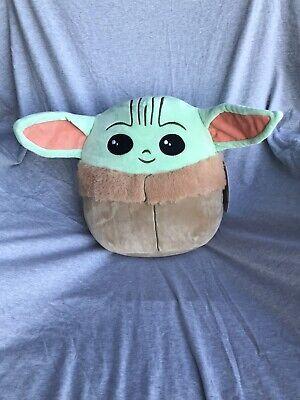 "Squishmallow 10"" Star Wars The Child Grogu Baby Yoda Mandalorian Soft Plush BNWT"