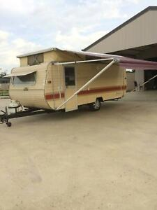 Bunk caravan