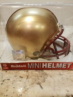 Boston College Mini Helmet - Riddell Boston College Non-Speed Mini-Helmet