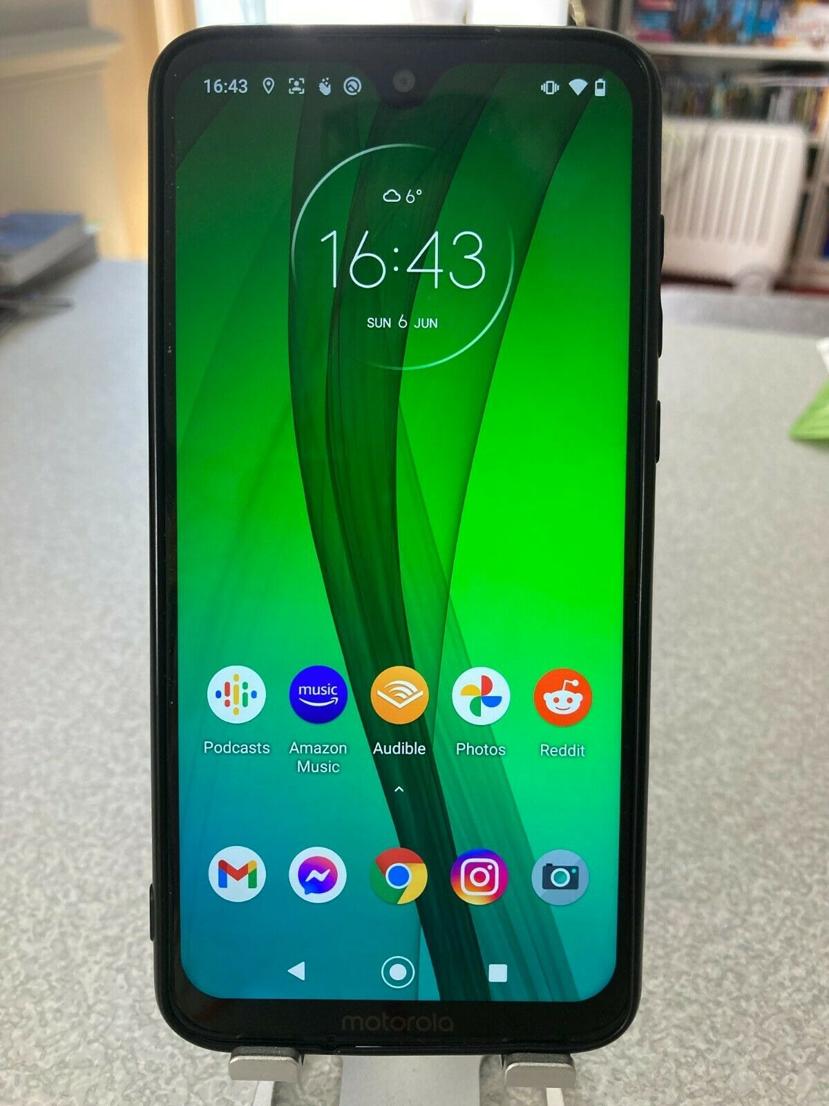 Android Phone - Motorola Moto G7 - 64GB - Ceramic Black (Unlocked) smartphone, mobile phone