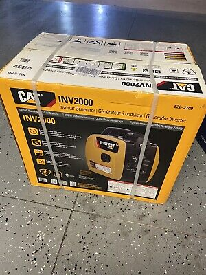 Cat Inv2000 1800 Running Watts2250 Starting Gas Powered Inverter Generator New