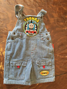 4T Thomas train short overalls