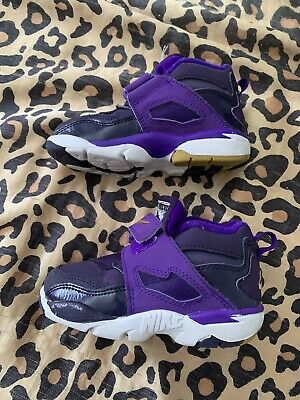 Nike Baby Kid shoes Diamond Turf 2 size 8c Toddler TD 407913-500 Purple