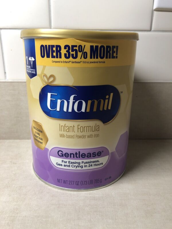 Enfamil Gentlease 27.7 oz Formula Tubs - Expires 3/2022