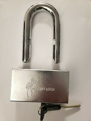 Mighty Lock Mul-t-lock Style Giant Padlock 16 58 Removable Shackle...