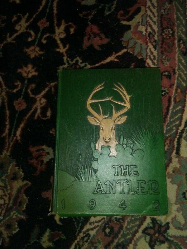1942 Tivy High School Yearbook Kerrville Texas