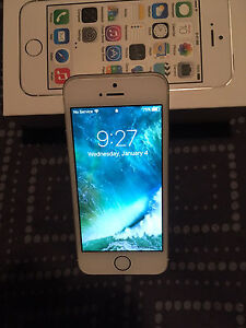 Silver iPhone 5s - 16 gb