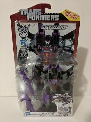 Transformer Generation Decepticon SKYWARP Figure IDW 30th Anniversary Comic