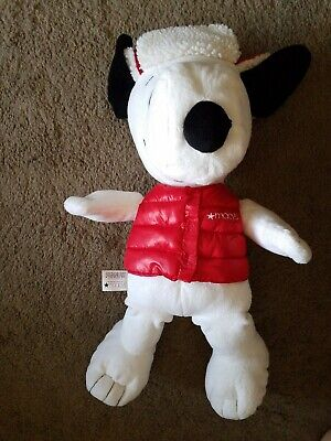 Snoopy Holiday Plush Stuffed Animal Macy's Exclusive 2015 Peanuts Large 18