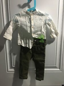 ZaraBoys outfit 9-12 months