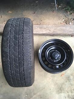 Hilux wheels and tyres 2016 4x4