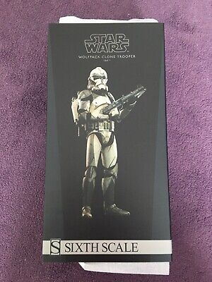 Sideshow 104th Battalion Wolfpack Star Wars Clone 1/6 Figure