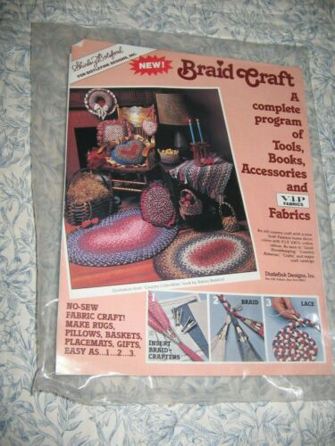 Shirley Botsford Braid Craft Tools Rug Braiding NEW SEALED Seat Cover Placemat