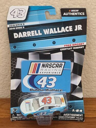 2018  WALLACE JR BUBBA #43 NASCAR Racing Experience 1:64 Diecast