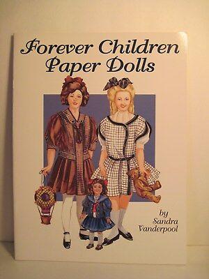 FOREVER CHILDREN  PAPER DOLLS BY SANDRA VANDERPOOL