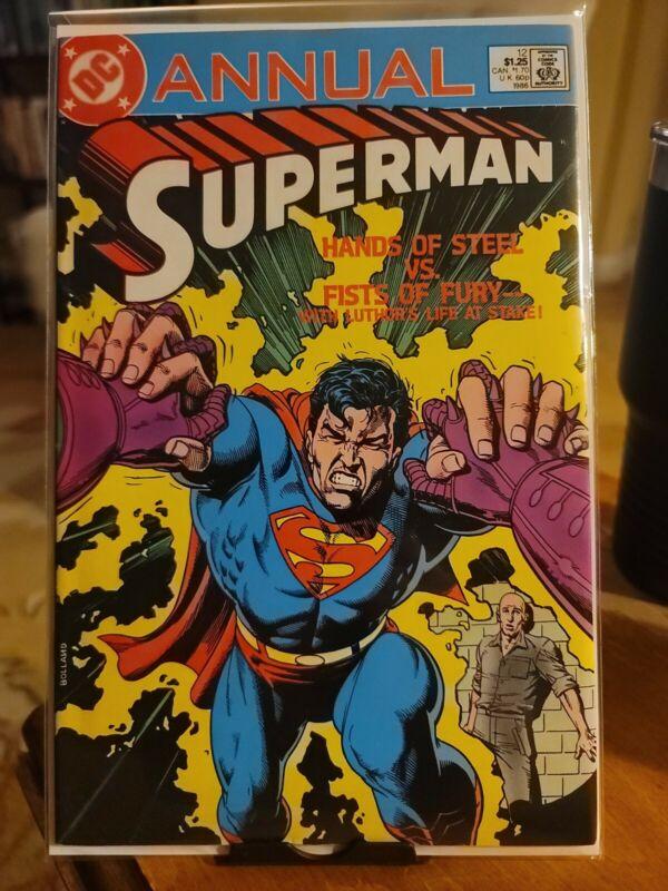 Superman Annual #12  VF/NM  1986  High Grade DC Comic