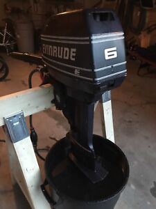 6 HP Evinrude Long Shaft for sale