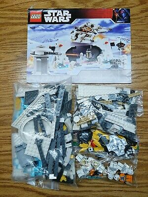 Lego Star Wars Set 7666 Hoth Rebel Base Limited Edition with K-3PO Complete EUC! Lego Star Wars Hoth Rebel Base