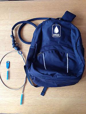 (Hydration system - backpack, bladder + tube insulator +FREE tube cleaning kit )
