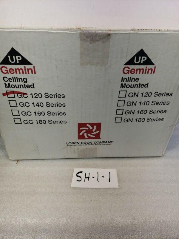 Loren Cook Company Gemini 120 Series  Cabinet and Ceiling Fan