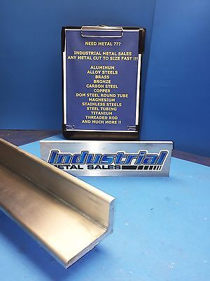 2 X 3 Aluminum Angle 6061 T6 X 12-long X 38thick-2 X 3 X 38 6061angle
