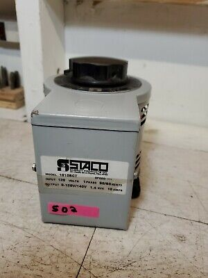 Staco 1010bct Autoformer Variac 120v Input Up To 120v10a Output - Nice Clean