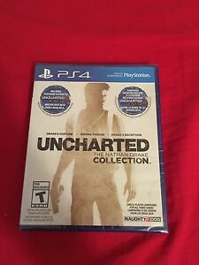 Uncharted whole collection PS4
