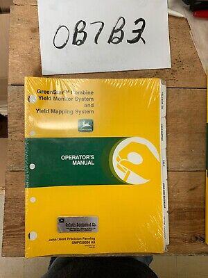 John Deere Greenstar Combine Yield Mapping System Operators Manual Ompc20030
