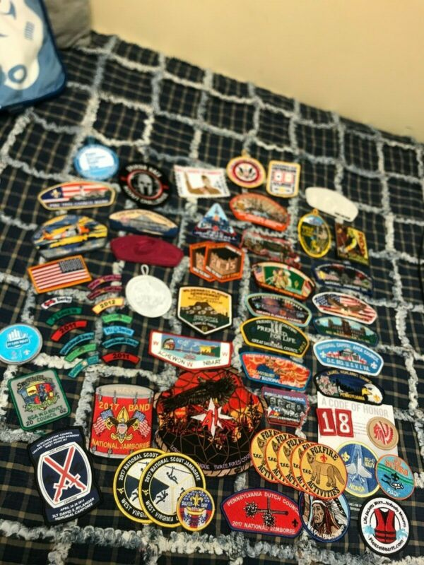 HUGE Jamboree 2001-2017 Patch lot (Three fires, Order of the Arrow)