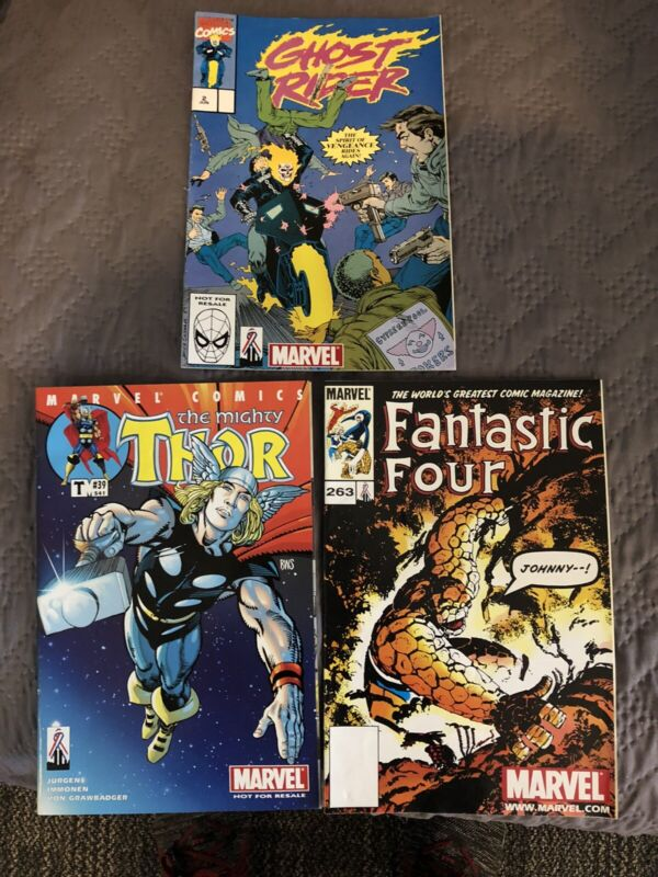 Thor #39, Ghost Rider #2 and Fantastic 4 #263