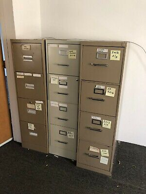File Cabinets - Miscellaneous Lot of 14