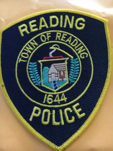 Reading Massachusetts Police patch