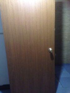 Ribbon Mahogany Doors