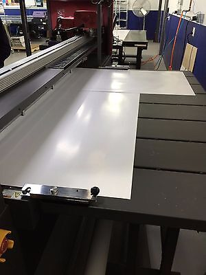 Efi H1625 Led 64 Inch Wide Format Hybrid Printer With 2 Canal White Inks