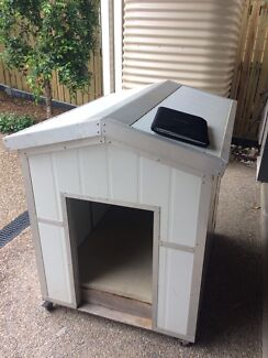 Extra large custom insulated chew proof dog kennel