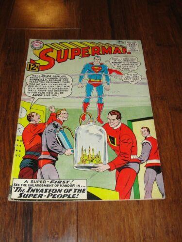 "DC COMICS ""SUPERMAN"" #158 JAN 63 COMIC BOOK"
