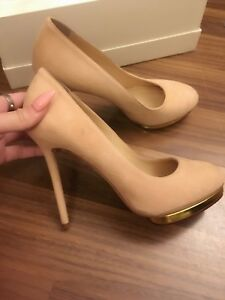 Sale! Charlotte plump suede pumps 7/7.5 ! New and Authentic!