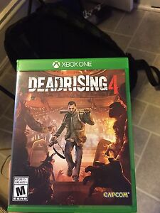 Dead Rising 4 brand New only played once , 45$ obo