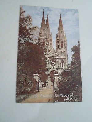 Old Postcard St Finbars Cathedral, Cork Franked & Stamped 1906  §A1056