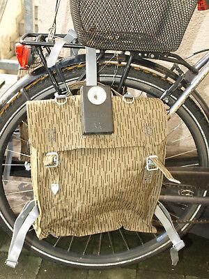 NVA Tasche Fahrrad 1 Simson Sturmgepäck  gummiert Taschenlampe Teil 1 Schwalbe