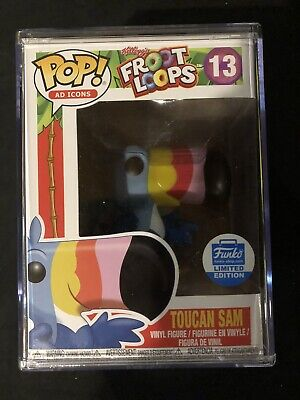 Funko Pop! Ad Icons Fruit Loops Toucan Sam 13 Funko Shop Limited Edition