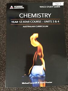 Chemistry year 12 work book Mosman Park Cottesloe Area Preview