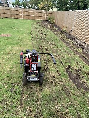 Tc07 Camon Trackmaster Turf Cutter Hire Only