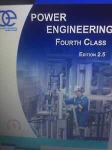 3rd & 4th class Power Eng Books (+CSA Extract+Steam Tables)