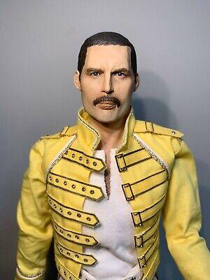 "1/6 QUEEN Freddie Mercury ""Wembley"" custom figure by Cheung kinmen (JOhnny) RARE"
